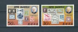 NORTH KOREA, 1980, Sir Rowland Hill Death Centenary 2v  MNH - Corea Del Norte