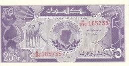 SUDAN 25 Piastres 1987 P-37 UNC */* - Sudan