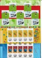 13 BF Des Année 2002 - Neufs ** Luxe - Blocs & Feuillets