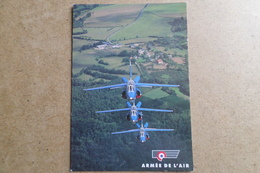 ALPHAJET PATROUILLE DE FRANCE Saison 1995 ( Avion,Aviation,Armée De L'Air ) - 1946-....: Ere Moderne
