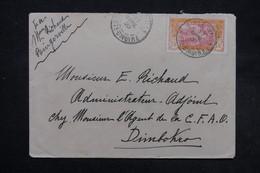 CÔTE D'IVOIRE - Enveloppe De Bingerville Pour Dimbohro En 1920 , Affranchissement Plaisant - L 27550 - Brieven En Documenten