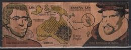 Spain (2017) - Set -  /  Maps - Cartes - UNUSUAL Wood Stamps - Aardrijkskunde