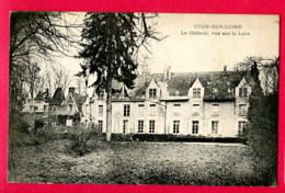 CPA (Réf : X029) COUR-SUR-LOIRE (41 LOIR-et-CHER) Le Château, Vue Sur La Loire - Sonstige Gemeinden