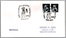 "Exposicion Filatelica Juvenil - CABEZUDO ""TUDELANO"". Tudela, Navarra, 1992 - Otros"