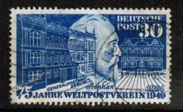 GERMANY  Scott # 699 USED FAULTS (Stamp Scan # 482) - [7] Federal Republic