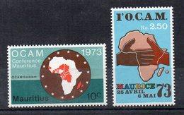 MAURICE - OCAM CONFERENCE - 1973 - 10ç + 2.50Rs - - Maurice (1968-...)