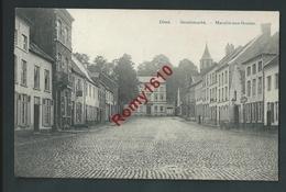 DIEST.   Graanmarkt.  Marché Aux Grains. 1909.    2 Scans. - Diest