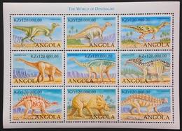 Angola 1999** Mi.Klb.1306-14  Dinosaurs ,MNH  [8;91] - Briefmarken