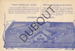 Kaart  LEUVEN/LOUVAIN Centrale Gevangenis Van Leuven (O622) - Leuven