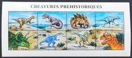Madagascar 1999**Mi.2291-98  (Dinosaurs ) [8;116] - Vor- U. Frühgeschichte