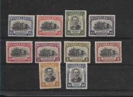 COSTA RICA 1948 NATIONAL THEATER ANNIVERSARY  & RAFAEL IGLESIAS SCOTT C168- 77 - Costa Rica