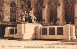 Chalons Sur Marne (51) - Monument Aux Morts - La Relève - Châlons-sur-Marne