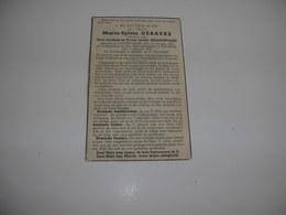 Maria-Sylvia Debaeke (Lichtervelde 1876-Rumbeke 1945);Delafontaine - Devotieprenten