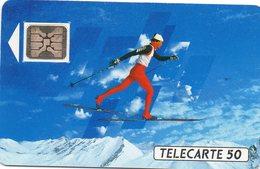 Télécarte   J.O. D'hiver 92 - Jeux Olympiques