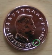 Luxemburg  2019  1 Cent  Met MMT BRUG  -  POINCON  PONT  ZEER ZELDZAAM   -  EXTREME RARE 5.000 !!!! - Luxemburg