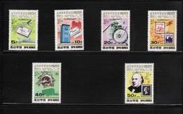 NORTH KOREA, 1989, London'90 150th Anniversary Of The World's First Stamps  6v MNH - Corea Del Norte