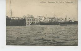 ITALIE - BRINDISI - Panorama Del Porto E Capitaneria - Brindisi
