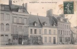 BACQUEVILLE - Place De L'Hôtel De Ville - Hôtel Du Commerce - France