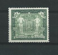 Antwerpen 301 Vert Xx Pleine Gomme Originale , Très Frais - Unused Stamps