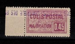 Algerie - Variete Colis Postaux N** Luxe YV 110 Surcharge Renversée - Algeria (1924-1962)