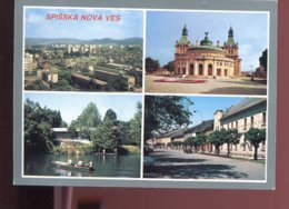 CPM Slovaquie SPISSKA NOVA VES Multi Vues - Slovaquie