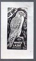 Ex Libris Kovats Lajos (ornitologus) (PPP17995) - Ex-libris