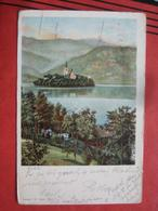 Bled / Veldes - Panorama 1906 - Slovenia