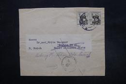 SLOVAQUIE - Bande Journal Pour L 'Allemagne, Affranchissement Plaisant - L 27567 - Cartas