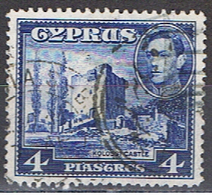 (XIP 115) CYPRUS // YVERT 139 B // CHÂTEAU KOLOSSI // 1938-51 - Chypre (...-1960)