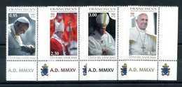 2015 VATICANO SET MNH ** - Vatican