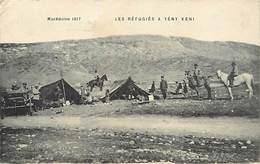 Pays Div-ref R830- Macedoine - Guerre 1914-18- Les Refugiés A Yeny Keni  - Carte Bon Etat  - - Macédoine