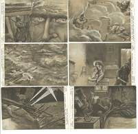BIG - Série  Puzzle De 6 CPA - Militaria - Atrocités De La Guerre  (87 ASO) - Illustrators & Photographers