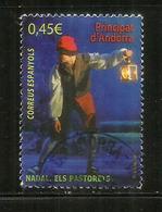 """Nadal 2016 """" Els Pastorets"""" (l'adoració Dels Pastors) Un Timbre Oblitéré,  1 ère Qualité - Used Stamps"""