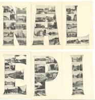 EPINAL - Magnifique Puzzle De 6 Cartes   (88 ASO) - Epinal
