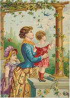 GRAND CHROMO - FEMME ET ENFANTS - Trade Cards