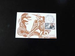 CACHET COMMEMORATIF  -  EXPOSITION  L'ART POUR L'EGLISE  -  1946  - - Postmark Collection (Covers)