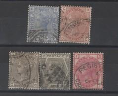 Grande Bretagne -  Victoria (1880 ) N°62/66 - 1840-1901 (Victoria)