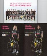 Cyclisme, Serie BTC City Ljubljana Dames 2019 - Ciclismo