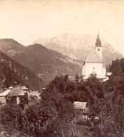 AK-1275/ Sulzbach Und Die Raducha Kärnten  Stereofoto V Alois Beer ~1900 - Stereo-Photographie