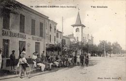 """CAGNES-SUR-MER CROS-DE-CAGNES VUE GENERALE """"RESTAURANT BEAU-RIVAGE"""" - Cagnes-sur-Mer"""