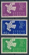 °°° CIPRO CYPRUS - Y&T N°189/91 - 1962 MNH °°° - Cipro (Repubblica)