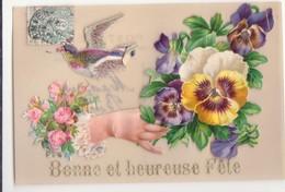 CP - BONNE ET HEUREUSE FETE - Mother's Day