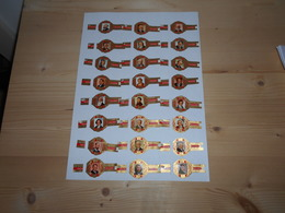 Sigarenbanden Edelachtbaar Serie Uitvinders 24 St - Bagues De Cigares
