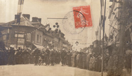 27 / BOURGTHEROULDE /  CARTE PHOTO  LES POMPIERS         /// REF   AVRIL. 19 ///   BO. - Bourgtheroulde