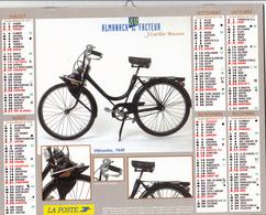 Calendrier Almanach Du Facteur 2005 VVELOSOLEX 1948 SOLEX Et COCCINELLE Split 1952 Département 81 (2 Scans) - Calendriers