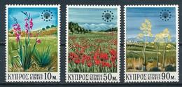 °°° CIPRO CYPRUS - Y&T N°327/29 - 1970 MNH °°° - Cipro (Repubblica)