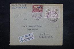 BULGARIE - Enveloppe En Recommandé De Varna En 1927 Par Avion Pour  Sofia , Affranchissement Plaisants - L 27578 - Cartas