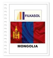 Suplemento Filkasol Mongolia 2018 + Filoestuches HAWID Transparentes - Pre-Impresas
