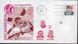 ★US - FINAL SKYLAB II WALK (51) - FDC & Conmemorativos
