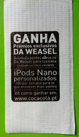 Servilleta,serviette Publicidade Coca-Cola - Servilletas Publicitarias